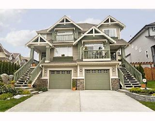 """Photo 1: 103 FOREST PARK Way in Port_Moody: Heritage Woods PM 1/2 Duplex for sale in """"ADVENTURE RIDGE"""" (Port Moody)  : MLS®# V706789"""