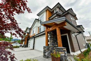 """Photo 1: 24 46570 MACKEN Avenue in Chilliwack: Chilliwack N Yale-Well Townhouse for sale in """"Parkside Place"""" : MLS®# R2318038"""