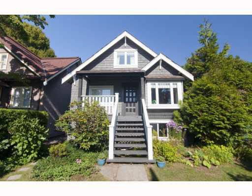 Main Photo: 4559 W 11TH AVENUE in : Point Grey House for sale : MLS®# V791477