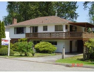 Photo 1: 3642 ST THOMAS Street in Port_Coquitlam: Lincoln Park PQ House for sale (Port Coquitlam)  : MLS®# V659941