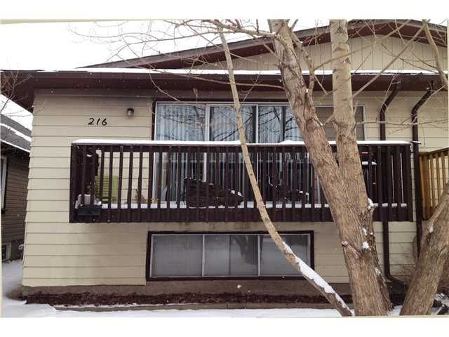 Main Photo: 216 15 Street NW in CALGARY: Hillhurst Residential Attached for sale (Calgary)  : MLS®# C3606319