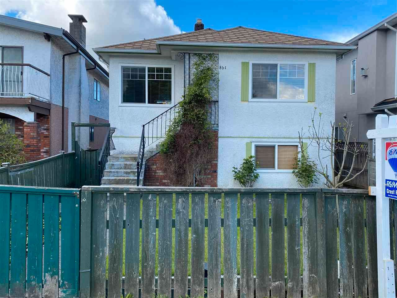Main Photo: 831 NANAIMO Street in Vancouver: Hastings House for sale (Vancouver East)  : MLS®# R2577523