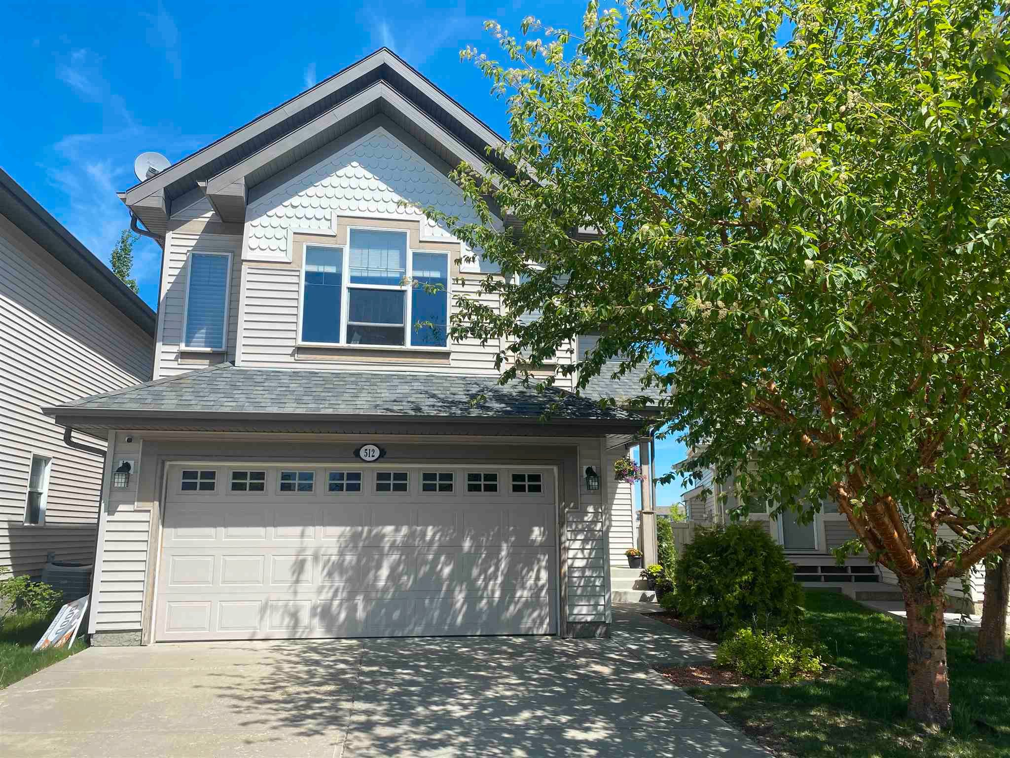 Main Photo: 512 CALDWELL Court in Edmonton: Zone 20 House for sale : MLS®# E4247370