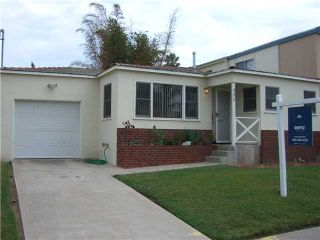Photo 1: PACIFIC BEACH House for sale : 2 bedrooms : 4276 Lamont