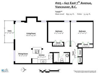 Photo 19: 105 642 E 7TH AVENUE in Vancouver: Mount Pleasant VE Condo for sale (Vancouver East)  : MLS®# R2325896