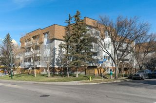 Photo 1: 208 540 18 Avenue SW in Calgary: Cliff Bungalow Apartment for sale : MLS®# A1046007