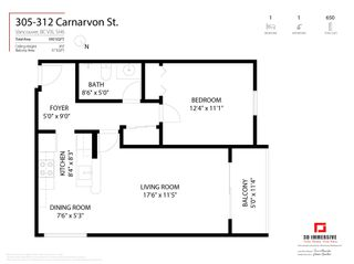 Photo 22: 305 312 CARNARVON Street in New Westminster: Downtown NW Condo for sale : MLS®# R2608269