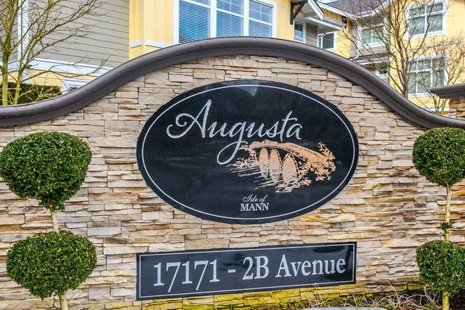 "Main Photo: 11 17171 2B Avenue in Surrey: Pacific Douglas Townhouse for sale in ""Augusta"" (South Surrey White Rock)  : MLS®# R2136788"