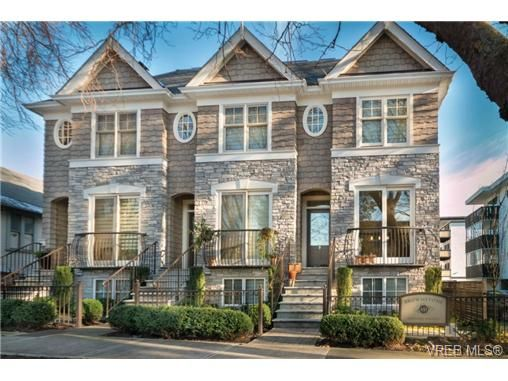 Main Photo: 4 451 Chester Ave in VICTORIA: Vi Fairfield West Row/Townhouse for sale (Victoria)  : MLS®# 690871