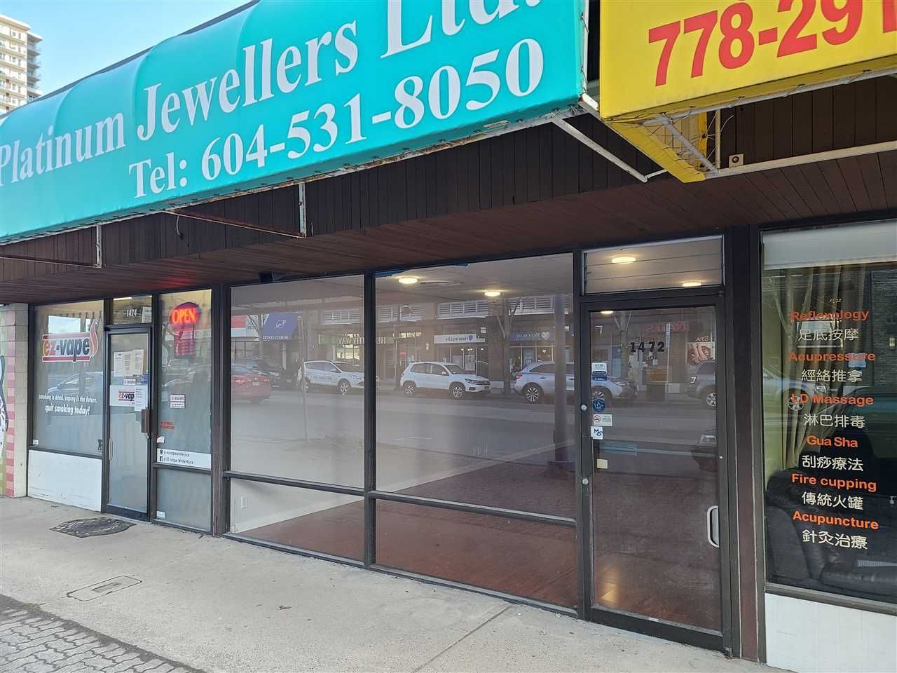 Main Photo: 1472 JOHNSTON Road: White Rock Office for lease (South Surrey White Rock)  : MLS®# C8036966