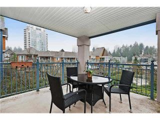 """Photo 1: 315 1190 EASTWOOD Street in Coquitlam: North Coquitlam Condo for sale in """"LAKESIDE TERRACE"""" : MLS®# V1104128"""
