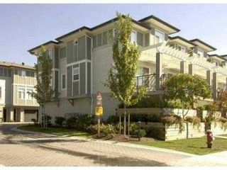 "Photo 1: 50 1010 EWEN Avenue in New Westminster: Queensborough Townhouse for sale in ""WINDSOR MEWS"" : MLS®# V1015419"