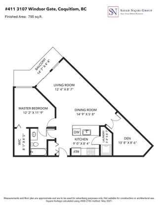 """Photo 25: 411 3107 WINDSOR Gate in Coquitlam: New Horizons Condo for sale in """"BRADLEY HOUSE"""" : MLS®# R2587443"""