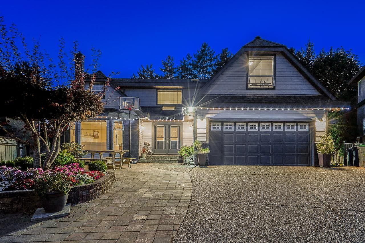 """Main Photo: 15003 81 Avenue in Surrey: Bear Creek Green Timbers House for sale in """"Morningside Estates"""" : MLS®# R2605531"""