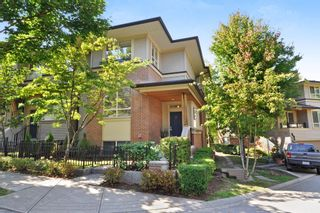 """Photo 1: 37 100 KLAHANIE Drive in Port Moody: Port Moody Centre Townhouse for sale in """"INDIGO"""" : MLS®# R2303018"""