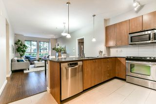 """Photo 3: 111 225 FRANCIS Way in New Westminster: Fraserview NW Condo for sale in """"WHITTAKER"""" : MLS®# R2497580"""
