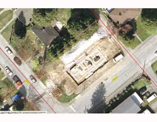 """Main Photo: 7268 1ST Street in Burnaby: Burnaby Lake Land for sale in """"EAST BURNABY"""" (Burnaby South)  : MLS®# V768822"""