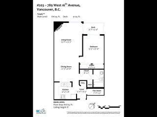 Photo 26: 203 789 W 16TH AVENUE in Vancouver: Fairview VW Condo for sale (Vancouver West)  : MLS®# R2600060