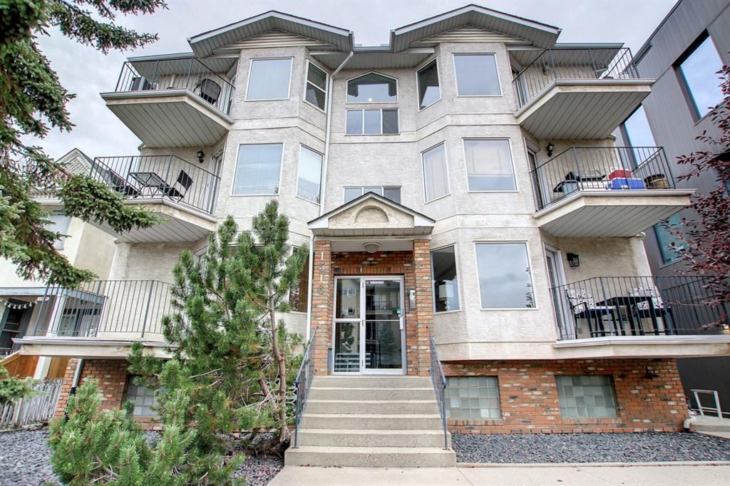 Main Photo: 1 1516 11 Avenue SW in Calgary: Sunalta Apartment for sale : MLS®# A1149206
