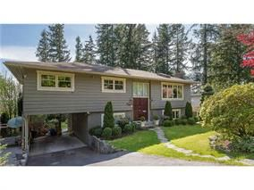Main Photo: 1995 Hyannis Dr. in North Vancouver: Blueridge NV House for sale : MLS®# V1118139