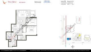 "Photo 20: 902 8033 SABA Road in Richmond: Brighouse Condo for sale in ""PALOMA 2"" : MLS®# R2556125"