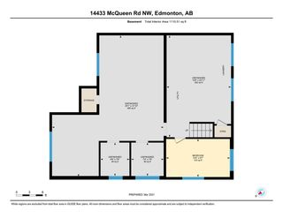 Photo 41: 14433 MCQUEEN ROAD in Edmonton: Zone 21 House Half Duplex for sale : MLS®# E4233965