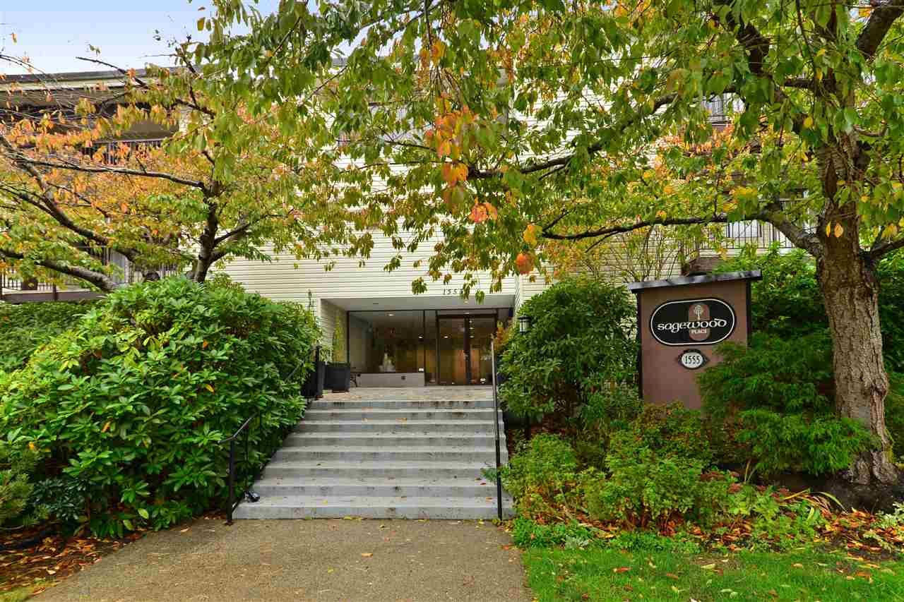 """Main Photo: 104 1555 FIR Street: White Rock Condo for sale in """"Sagewood Place"""" (South Surrey White Rock)  : MLS®# R2117536"""