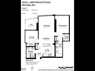 """Photo 22: 3105 4880 BENNETT Street in Burnaby: Metrotown Condo for sale in """"CHANCELLOR"""" (Burnaby South)  : MLS®# R2532141"""