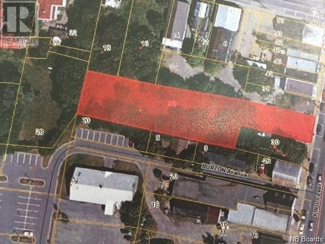 Main Photo: 32 King Street in St. Stephen: Vacant Land for sale : MLS®# NB055560
