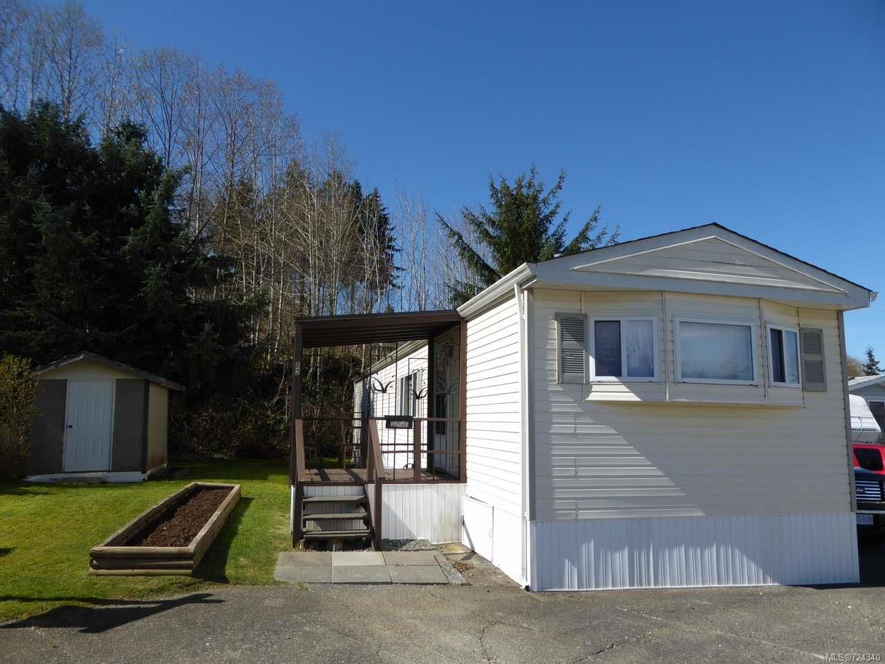 Main Photo: 82 951 Homewood Rd in CAMPBELL RIVER: CR Campbell River Central Manufactured Home for sale (Campbell River)  : MLS®# 724340