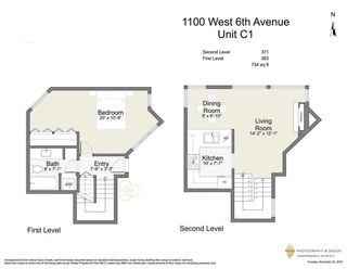 """Photo 19: C1 1100 W 6TH Avenue in Vancouver: Fairview VW Townhouse for sale in """"Fairview Place"""" (Vancouver West)  : MLS®# R2141815"""