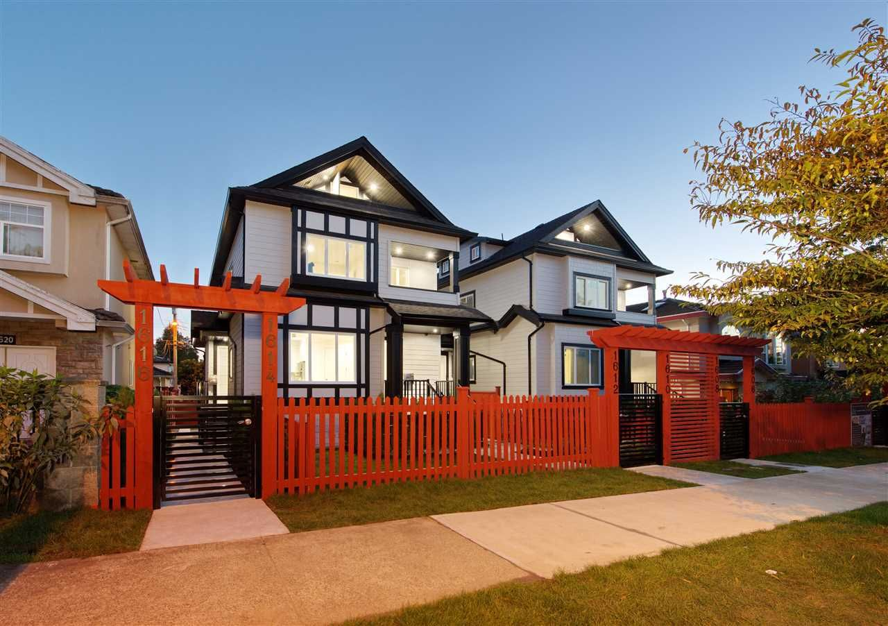 Main Photo: 1614 E 36 Avenue in Vancouver: Knight 1/2 Duplex for sale (Vancouver East)  : MLS®# R2507439