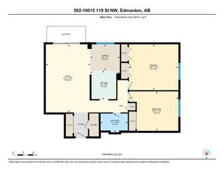Photo 29: 502 10015 119 Street in Edmonton: Zone 12 Condo for sale : MLS®# E4236624