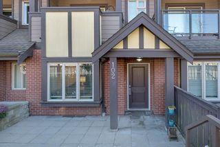 "Photo 2: 102 7227 ROYAL OAK Avenue in Burnaby: Metrotown Condo for sale in ""Viva"" (Burnaby South)  : MLS®# R2578439"