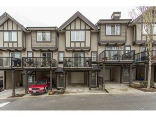 """Photo 1: 22 20176 68 Avenue in Langley: Willoughby Heights Townhouse for sale in """"STEEPLECHASE"""" : MLS®# R2146576"""