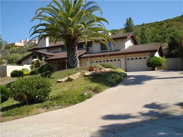 Main Photo: POWAY House for sale : 4 bedrooms : 13735 Paseo Bonita