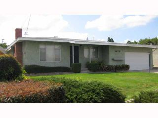 Photo 1: LEMON GROVE House for sale : 3 bedrooms : 1679 Watwood Road