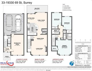 """Photo 40: 33 19330 69 Avenue in Surrey: Clayton Townhouse for sale in """"Montebello"""" (Cloverdale)  : MLS®# R2599143"""