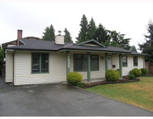 Main Photo: 11634 203RD Street in Maple_Ridge: Southwest Maple Ridge House for sale (Maple Ridge)  : MLS®# V697434