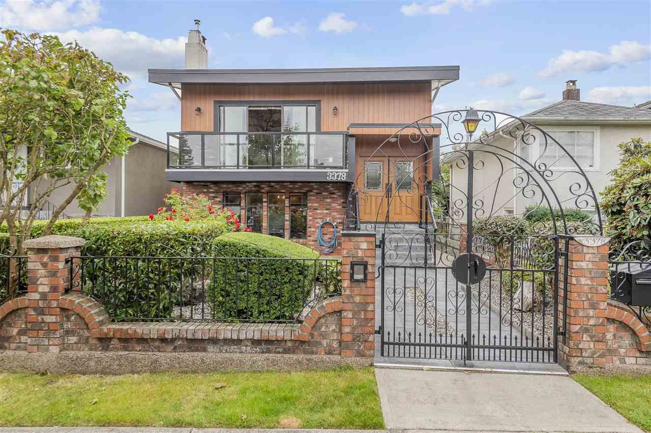 Main Photo: 3378 MONMOUTH Avenue in Vancouver: Collingwood VE House for sale (Vancouver East)  : MLS®# R2493272