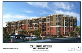 "Photo 1: 203 10688 140 Street in Surrey: Whalley Condo for sale in ""TRILLIUM LIVING"" (North Surrey)  : MLS®# R2346787"