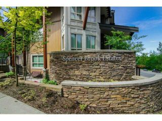 "Photo 3: 6 23986 104 Avenue in Maple Ridge: Albion Townhouse for sale in ""SPENCER BROOK"" : MLS®# V1066676"