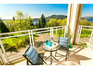 """Photo 1: 317 3629 DEERCREST Drive in North Vancouver: Roche Point Condo for sale in """"DEERFIELD BY THE SEA"""" : MLS®# V1118093"""
