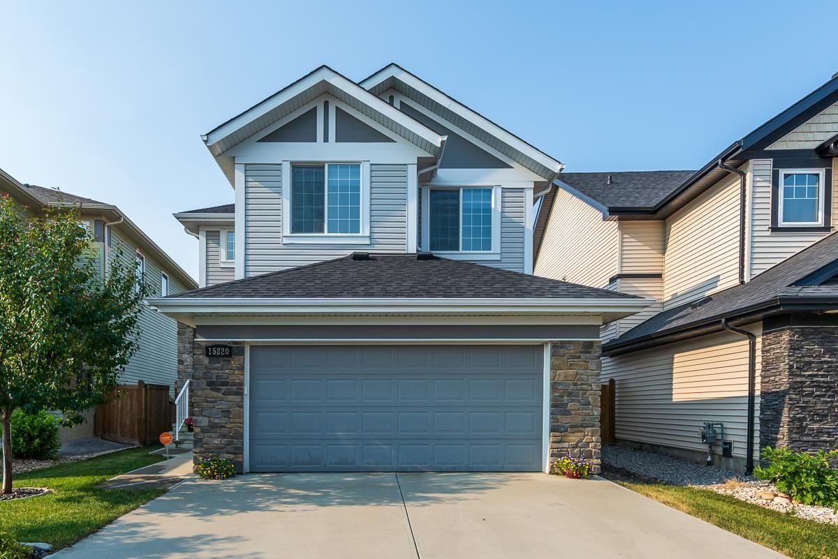 Main Photo: 15820 13 Avenue in Edmonton: Zone 56 House for sale : MLS®# E4254692