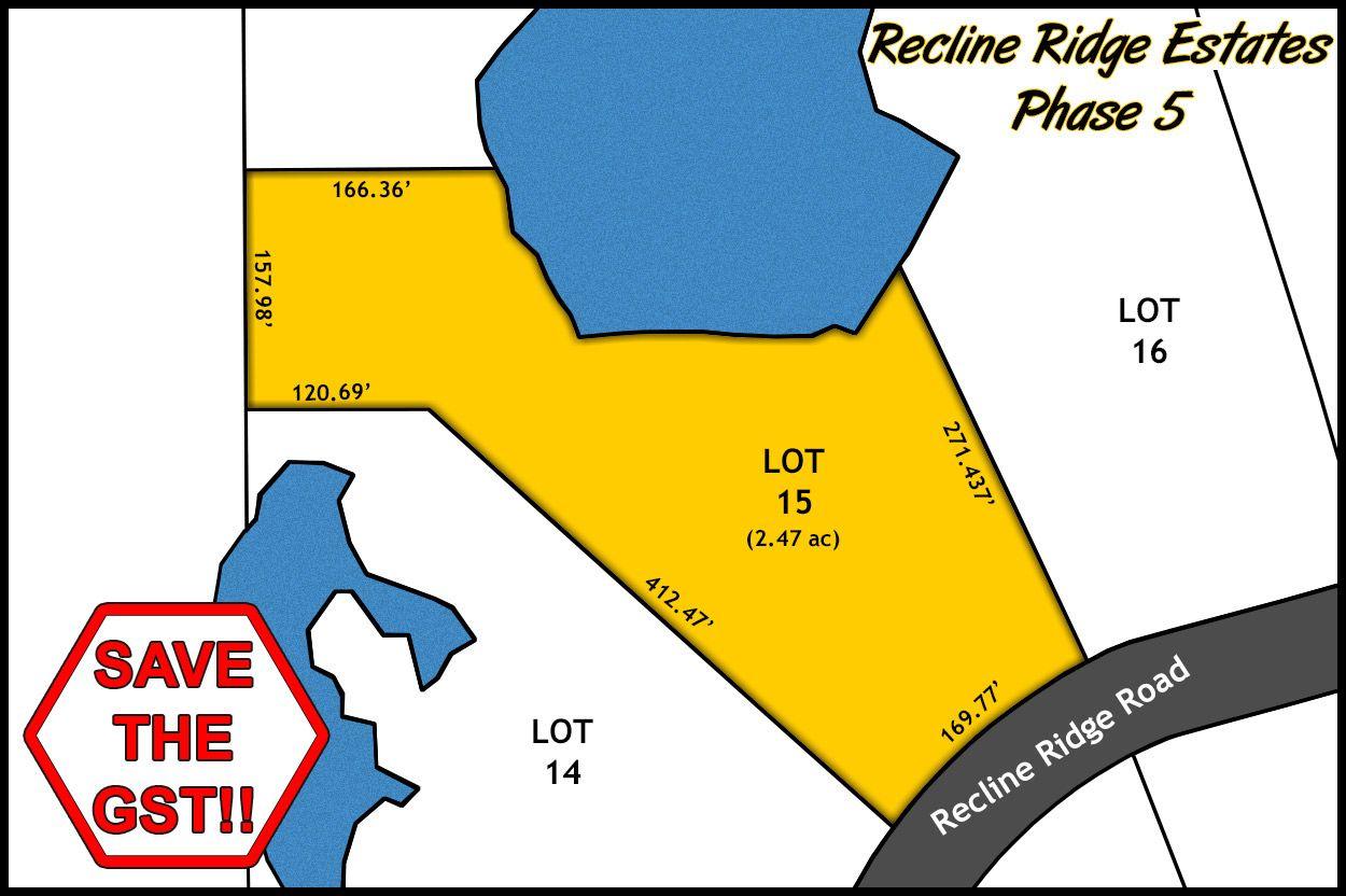 Recline Ridge Estates - Phase V - Lot 15