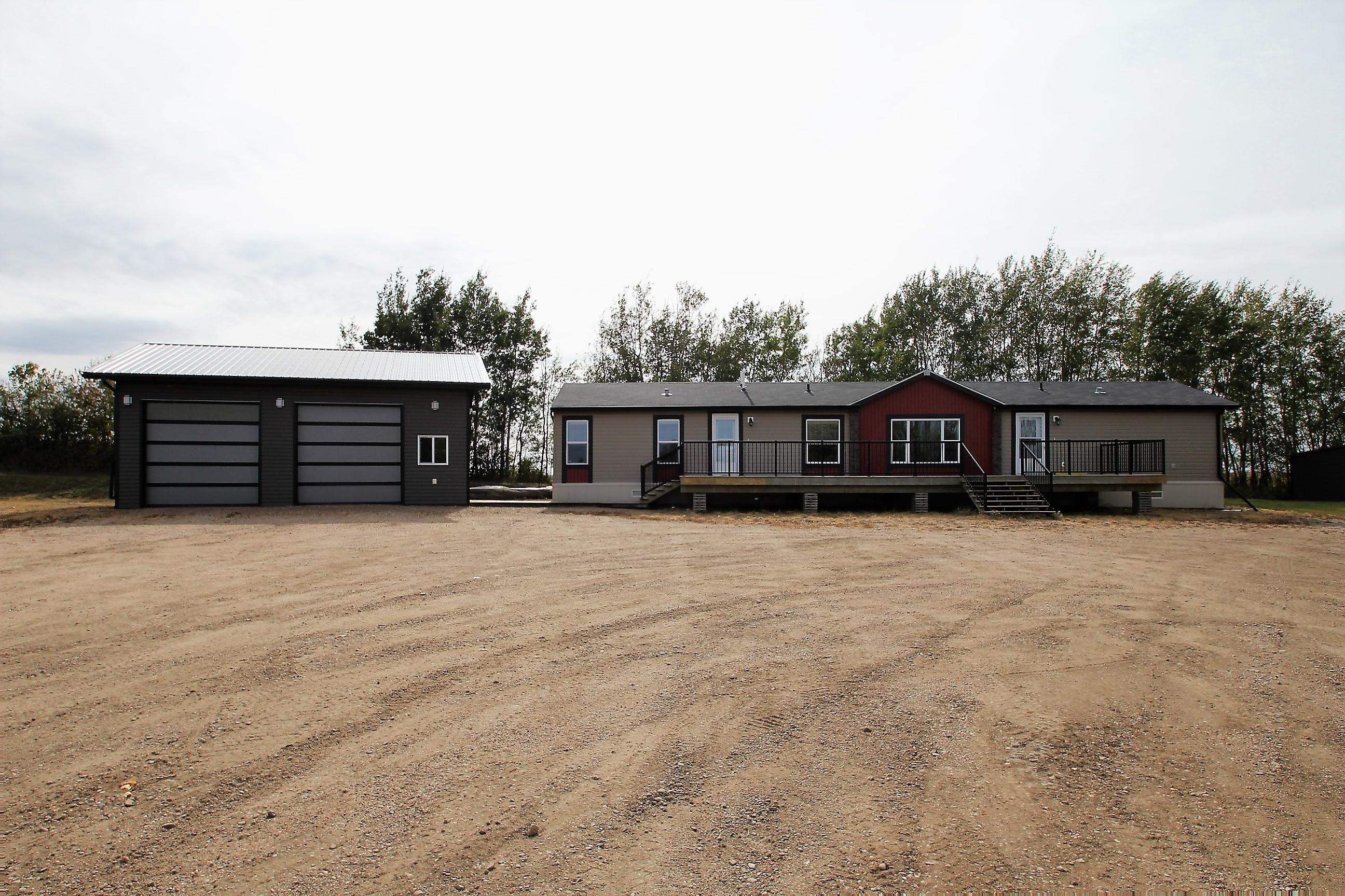 Main Photo: 58018 Rg Rd 100: Rural St. Paul County Manufactured Home for sale : MLS®# E4263765