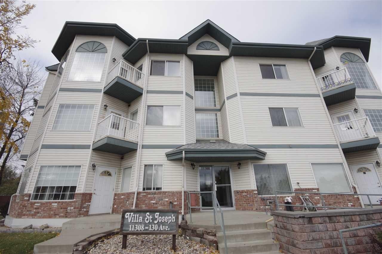 Main Photo: 104 11308 130 Avenue in Edmonton: Zone 01 Condo for sale : MLS®# E4172958