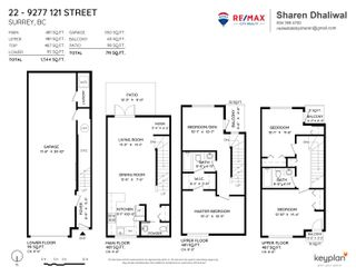 Photo 22: 22 9277 121 Street in Surrey: Queen Mary Park Surrey Townhouse for sale : MLS®# R2615444