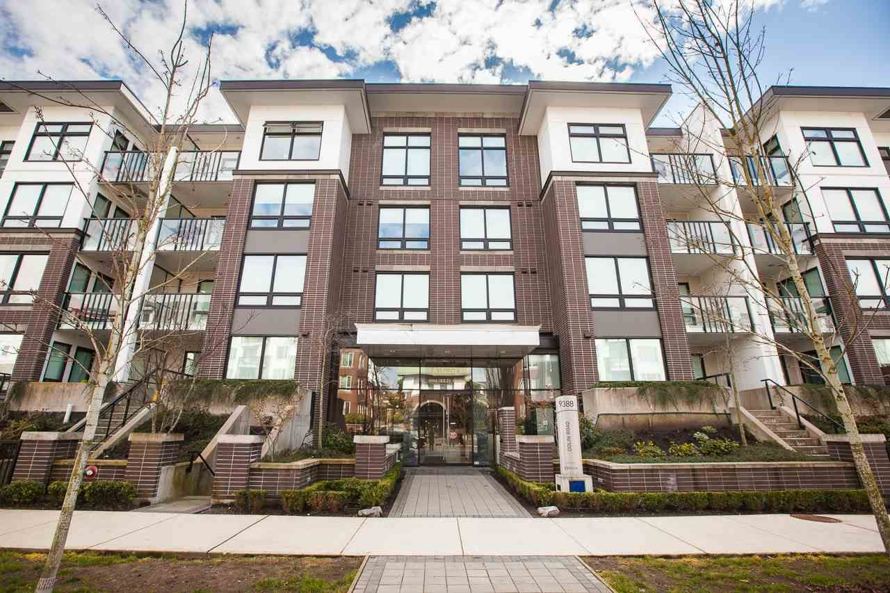 Photo 1: Photos: 418 9388 ODLIN Road in Richmond: West Cambie Condo for sale : MLS®# R2249455
