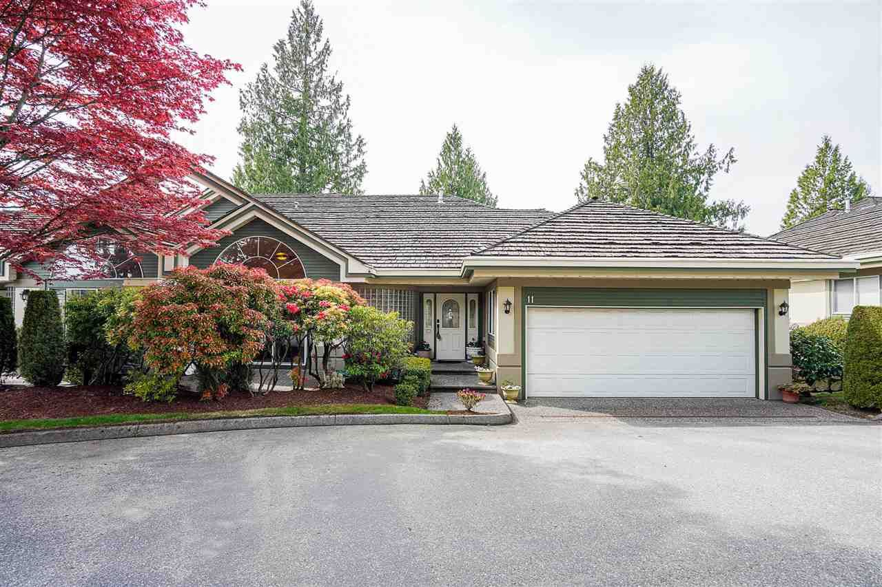 """Main Photo: 11 4001 OLD CLAYBURN Road in Abbotsford: Abbotsford East Townhouse for sale in """"Cedar Springs"""" : MLS®# R2575947"""